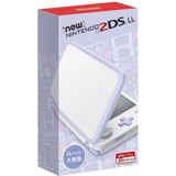 New Nintendo 2DS LL - White + Lavender (Miễn phí hack + Chép game)