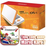 NEW NINTENDO 2DS XL - WHITE + ORANGE (tặng game Mario Kart 7 digital)