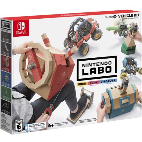 SW110 - Nintendo Labo - Vehicle Kit cho Nintendo Switch
