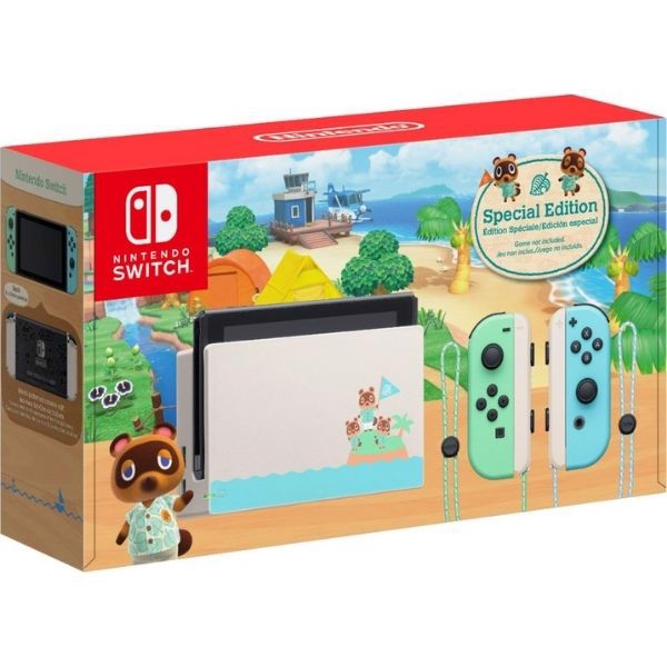 Nintendo Switch Animal Crossing New Horizons Special Edition
