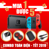 Nintendo Switch - Combo tết 2019