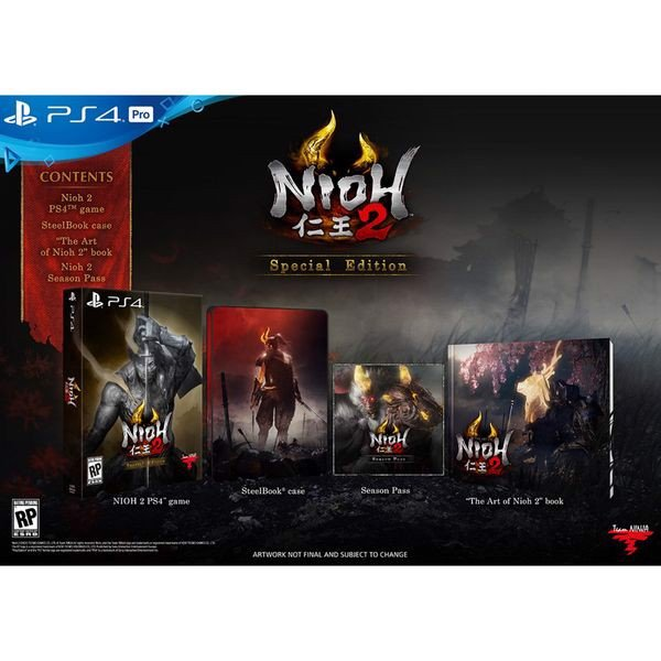 PS4356B - Nioh 2 Special Edition cho PS4 PS5