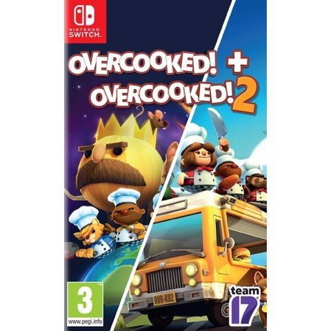 GSW148 - Overcooked! 1 + 2 cho Nintendo Switch