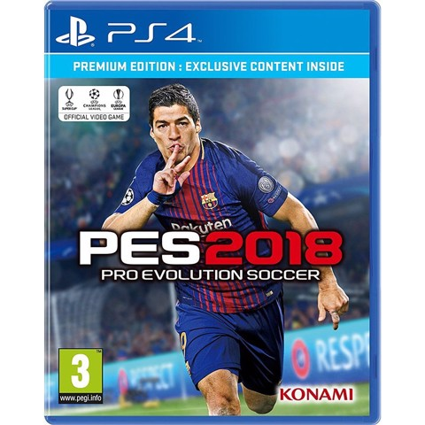 PS4216 - PRO EVOLUTION SOCCER 2018 (PES 2018)