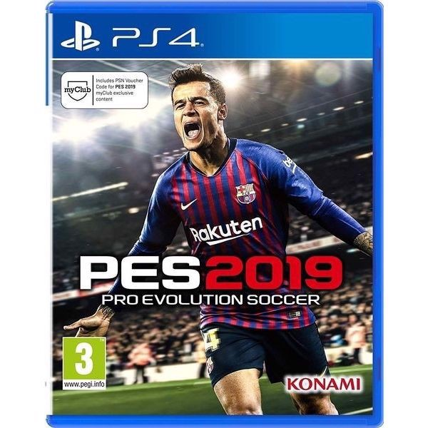 PS4289A - PES 2019 (Pro Evolution Soccer 2019) cho PS4