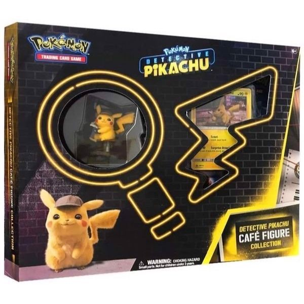 PB102 - Thẻ bài Pokemon Detective Pikachu Café Figure Collection