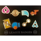 POKEMON GYM BADGES - HOENN LEAGUE