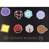 POKEMON GYM BADGES - JOHTO LEAGUE