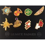 POKEMON GYM BADGES - KALOS LEAGUE