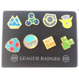 POKEMON GYM BADGES - SINNOH LEAGUE