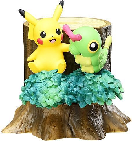 mua bán figure Pokemon Forest 2 Pikachu Caterpie