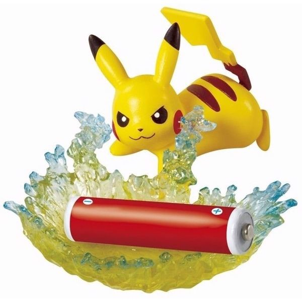 Pokemon Helpful Desktop Figures 2 - Pikachu Electrical discharge (Accessory Case)