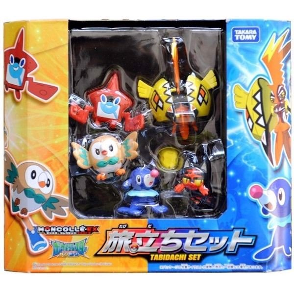Pokemon MonColle EX Tabidachi Set (Pokemon Figure)