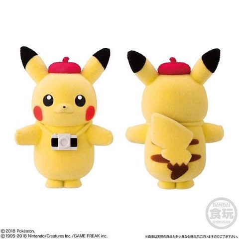 Pokemon Poke-mofu Doll 2 - Pikachu Camera