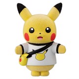 Pokemon Poke-mofu Doll 4 - Pikachu loves Pikachu
