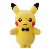 Pokemon Poke-mofu Doll 4 - Pikachu Ribbon
