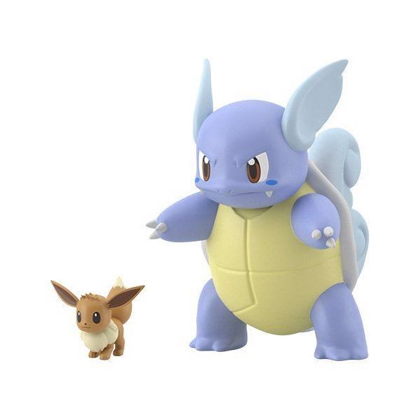 Pokemon Scale World Kanto - Eevee & Wartortle (Eievui & Kameil)