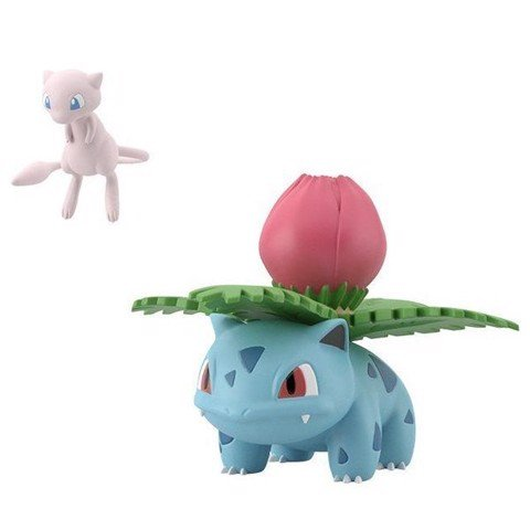 Pokemon Scale World Kanto - Mew & Ivysaur (Mew & Fushigisou)