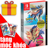 Game Pokemon Sword & Shield Double Pack cho Nintendo Switch siêu hay