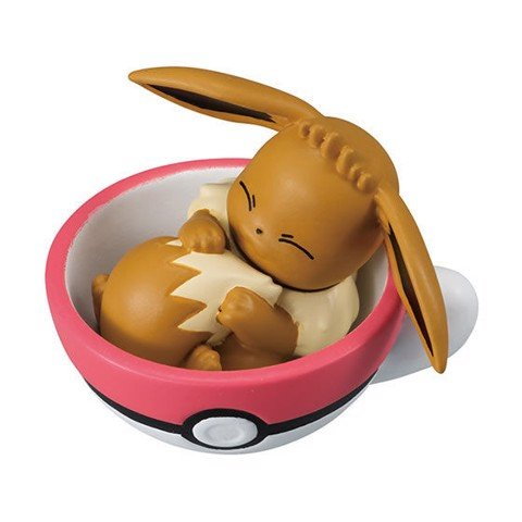 Pokemon Tea Cup Time Mascot 5 - Eevee