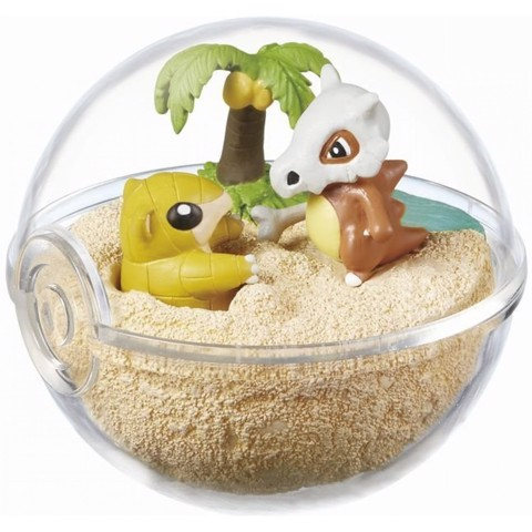 Pokemon Terrarium Collection 2 - Sandshrew & Cubone (Sand & Karakara)
