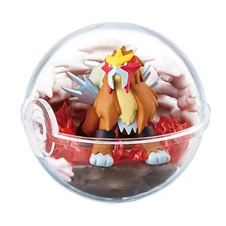 pokemon shop bán figure Pokemon Terrarium Collection 6 - Entei siêu đẹp