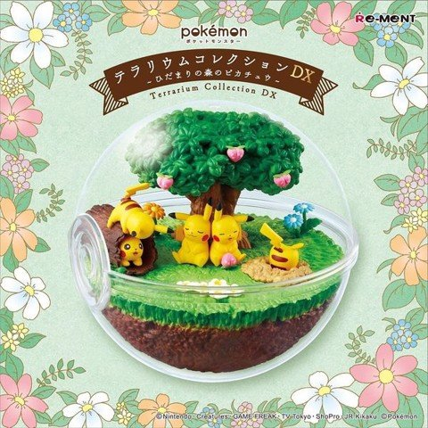 Pokemon Terrarium Collection DX - Pikachu in the Sunny Forest