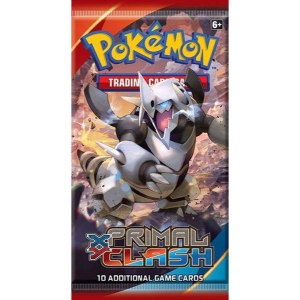 PP05 - PRIMAL CLASH BOOSTER PACK (POKÉMON TRADING CARD GAME - XY)