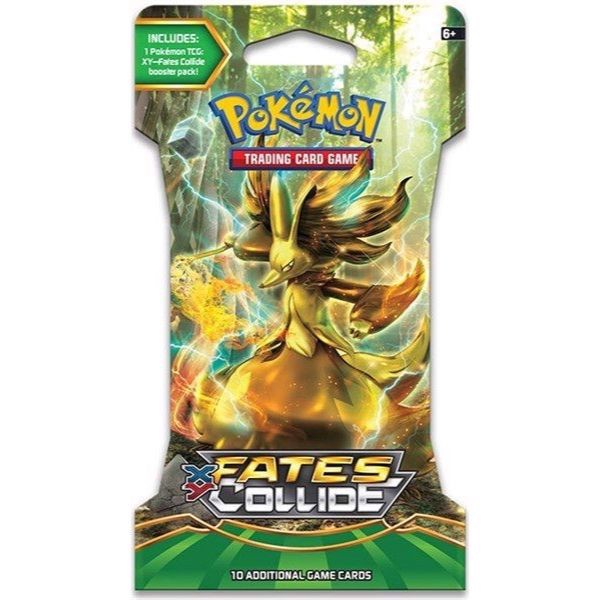 PP10 - FATES COLLIDE BOOSTER PACK (POKÉMON TRADING CARD GAME - XY)