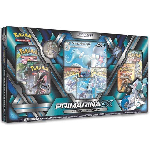 PB65 - PRIMARINA-GX PREMIUM COLLECTION (POKÉMON TRADING CARD GAME)