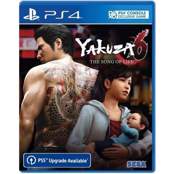 PS4275A - Yakuza 6: The Song of Life PS5 PS4