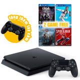PLAYSTATION 4 SLIM GAME BUNDLE - CUH-2216 - 500GB (JET BLACK) - CHÍNH HÃNG SONY VIỆT NAM