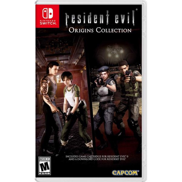 SW195 - Resident Evil Origins Collection cho Nintendo Switch