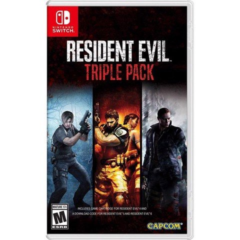 SW171 - Resident Evil Triple Pack cho Nintendo Switch