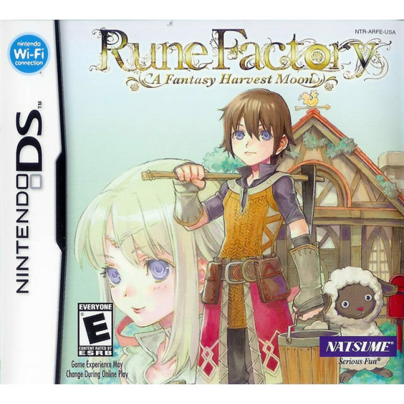 DS011 - RUNE FACTORY: A FANTASY HARVEST MOON