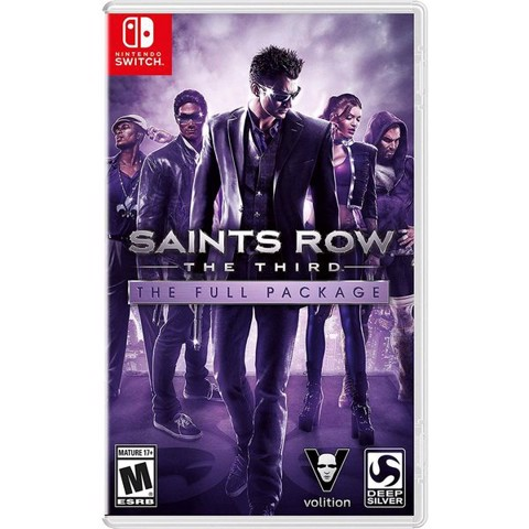 SW168 - Saints Row: The Third The Full Package cho Nintendo Switch
