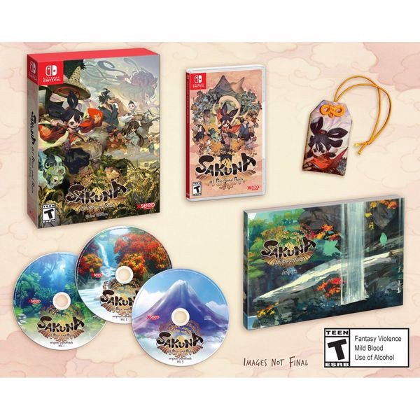 SW210B - Sakuna Of Rice and Ruin Divine Edition cho Nintendo Switch