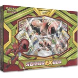 PB55 - SCIZOR-EX BOX (POKÉMON TRADING CARD GAME)
