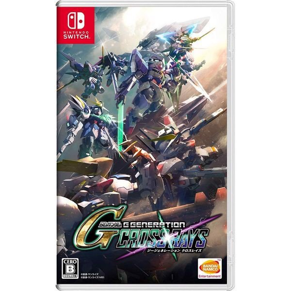 GSW150 - SD Gundam G Generation Cross Rays cho Nintendo Switch