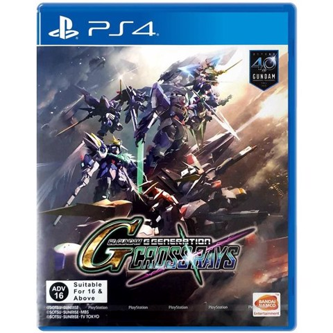 PS4351 - SD Gundam G Generation Cross Rays cho PS4