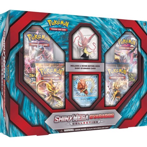 PB24 - SHINY MEGA GYARADOS COLLECTION (INCLUDES FIGURE) (POKÉMON TRADING CARD GAME)