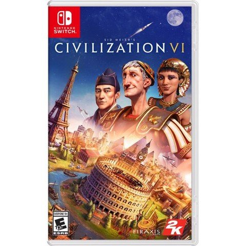 SW102 - Sid Meier's Civilization VI cho Nintendo Switch