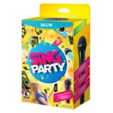 U009 - SING PARTY WITH MICROPHONE WII U