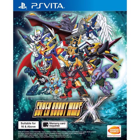 V101 - Super Robot Wars X