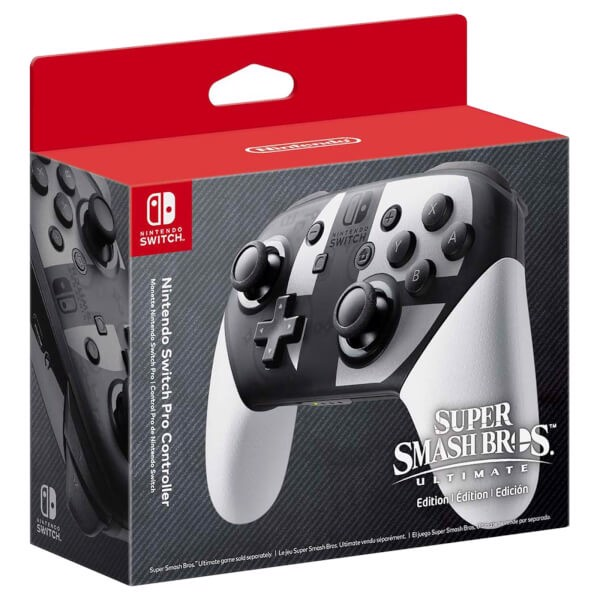 Nintendo Switch Pro Controller - Super Smash Bros. Ultimate Edition