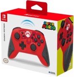 Wireless HORIPAD Mario Edition Rechargeable Controller for Nintendo Switch