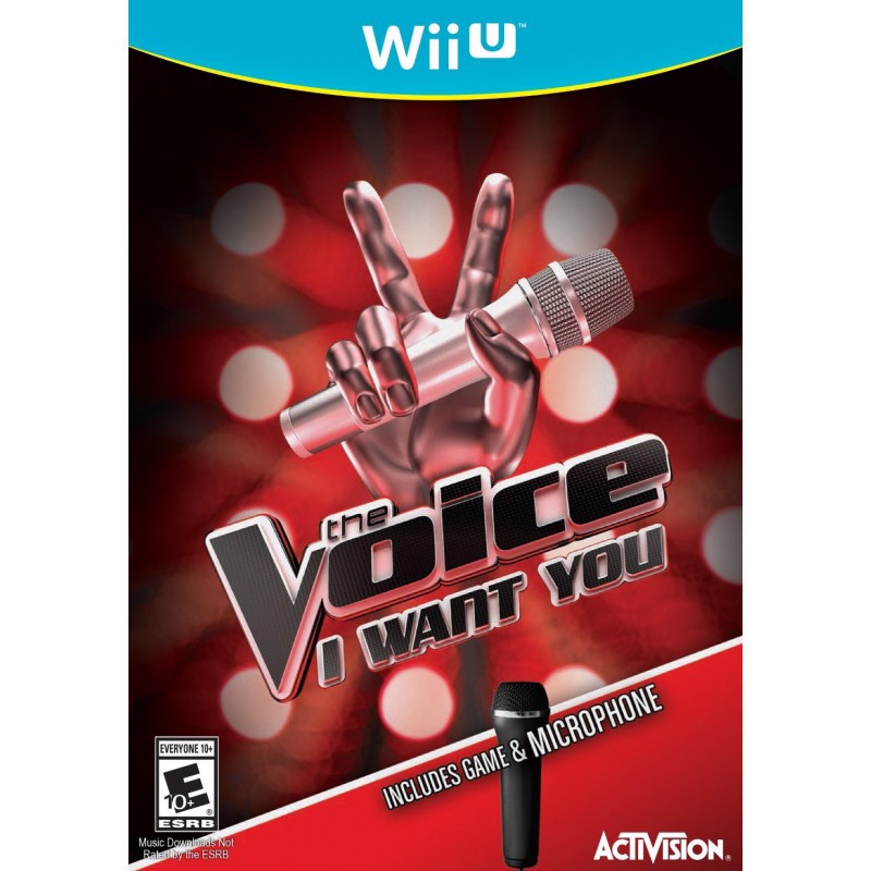 U053 - THE VOICE BUNDLE WITH MICROPHONE