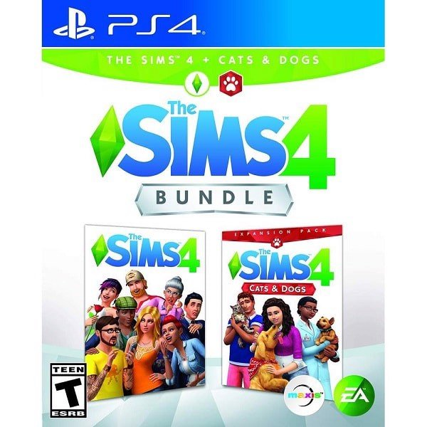 PS4246 - The Sims 4 bundle plus Cats & Dogs