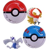 Throw 'n' Pop Poke Ball Pokedel-Z (Lugia & Ho-oh)