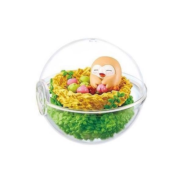 Pokemon Terrarium Collection EX Alola 2 - Rowlet (Mokuroh)